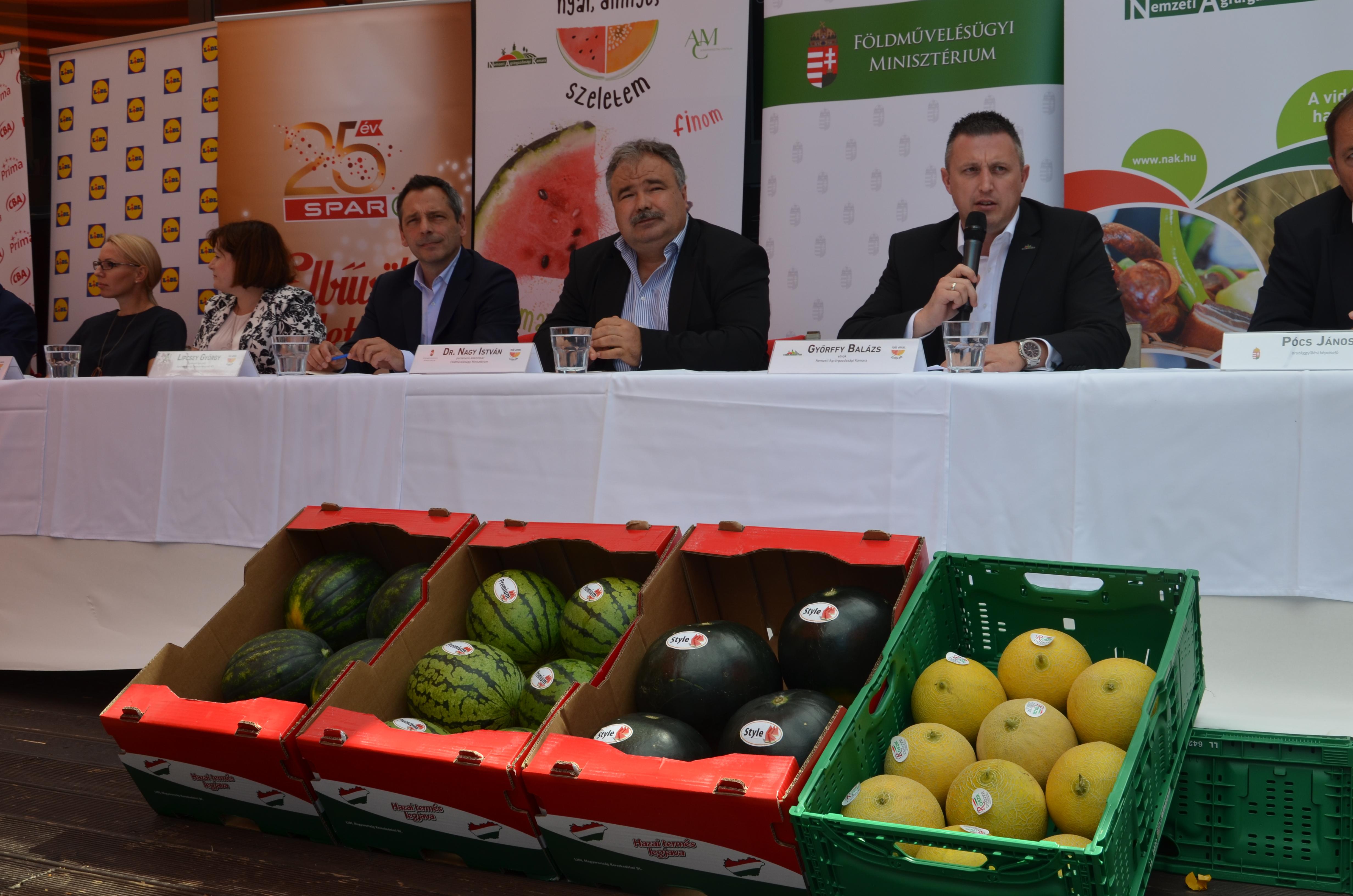 Magyar dinnye promóció - sajtótájékoztató16