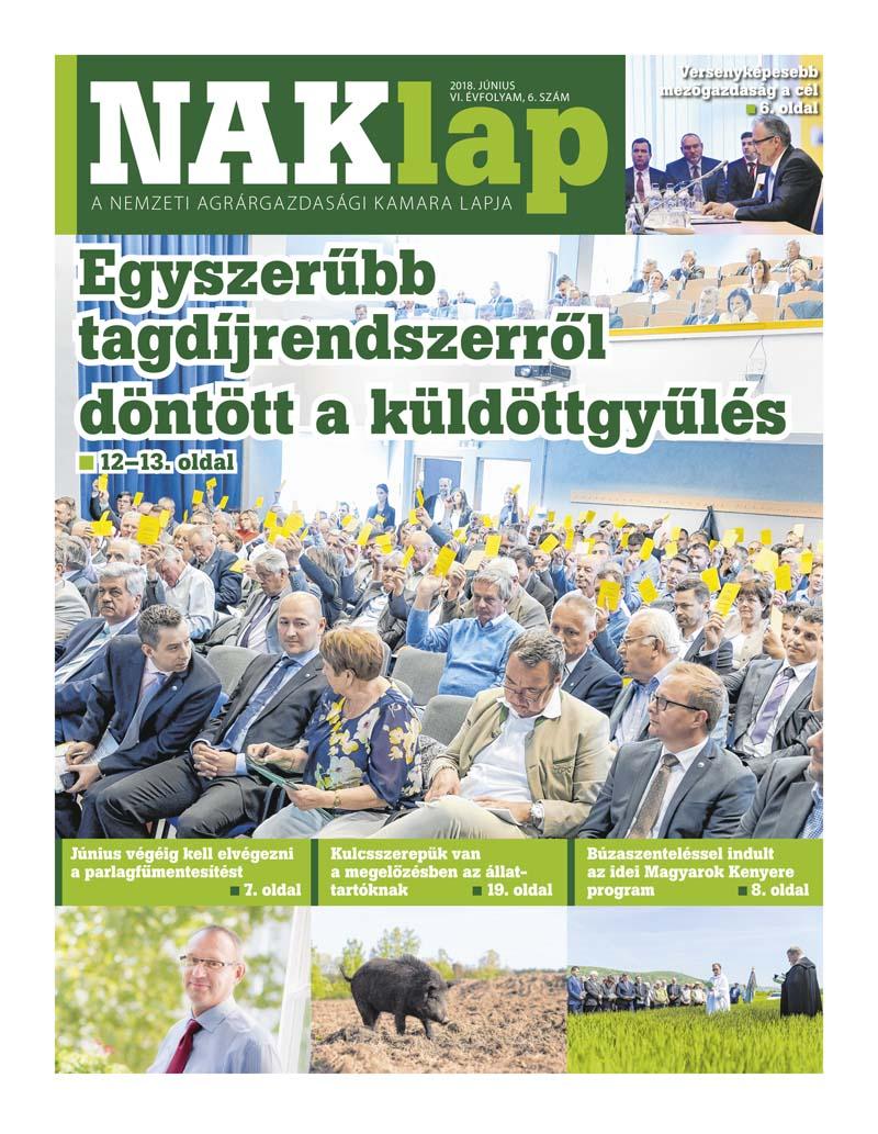 NAKlap 2018. június VI. évf. 6